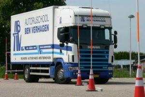 Rijles vrachtwagen